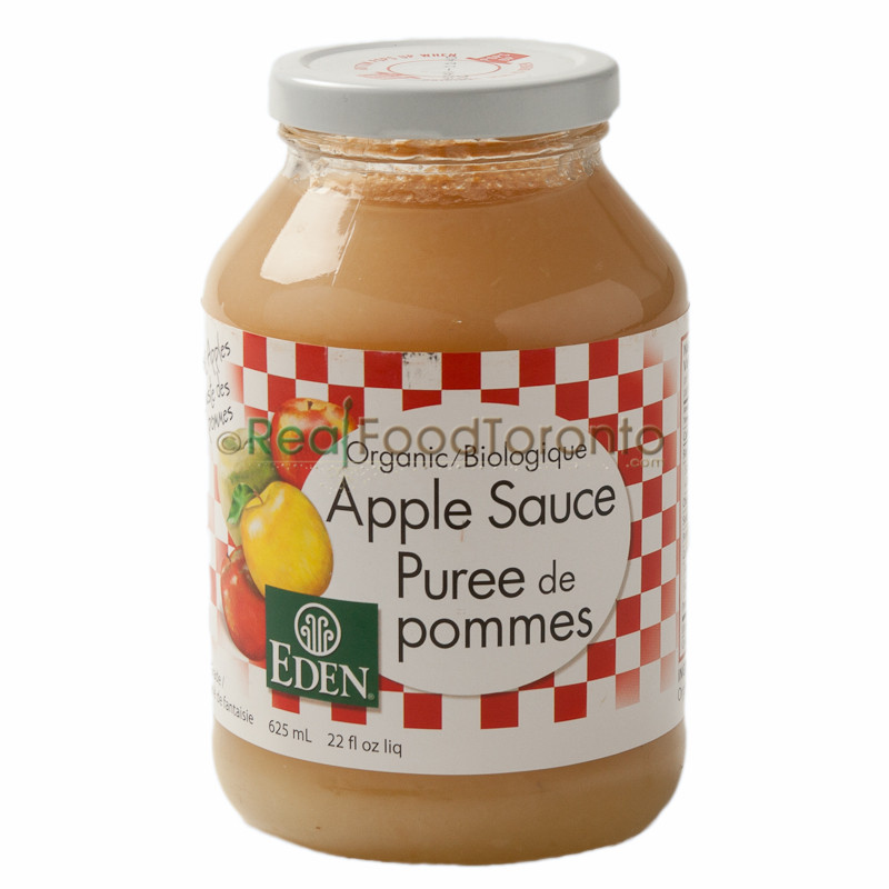 Organic Unsweetened Applesauce  Organic Unsweetened Apple Sauce Canned & Preserved