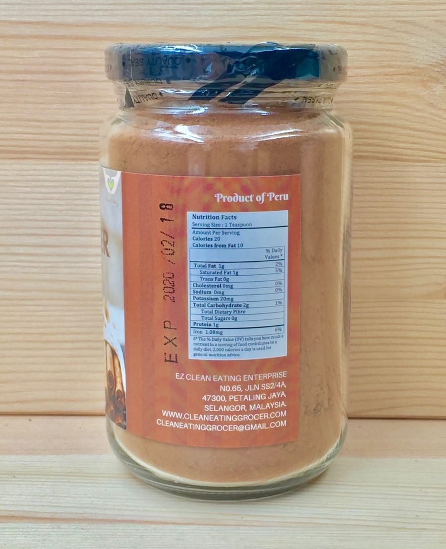 Organic Unsweetened Cocoa Powder  Organic Cocoa Powder Distributor in PJ KL Whole Malaysia