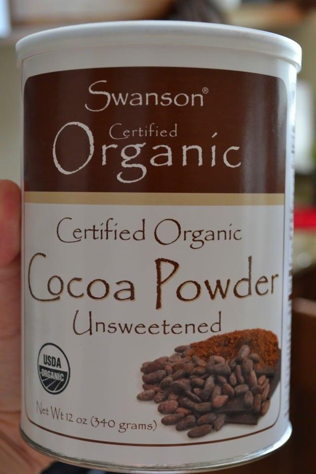 Organic Unsweetened Cocoa Powder  Cherry Butter Sunflower Seed Butter and Cocoa Powder A