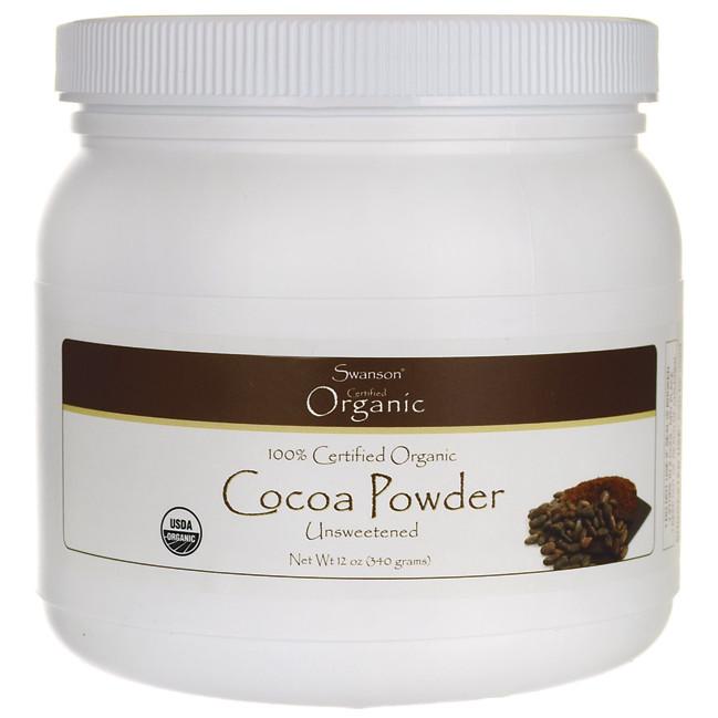 Organic Unsweetened Cocoa Powder  Organic Cocoa Powder Unsweetened Swanson Health Products