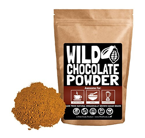 Organic Unsweetened Cocoa Powder  Amazon Organic Raw Cacao Powder Best Dark