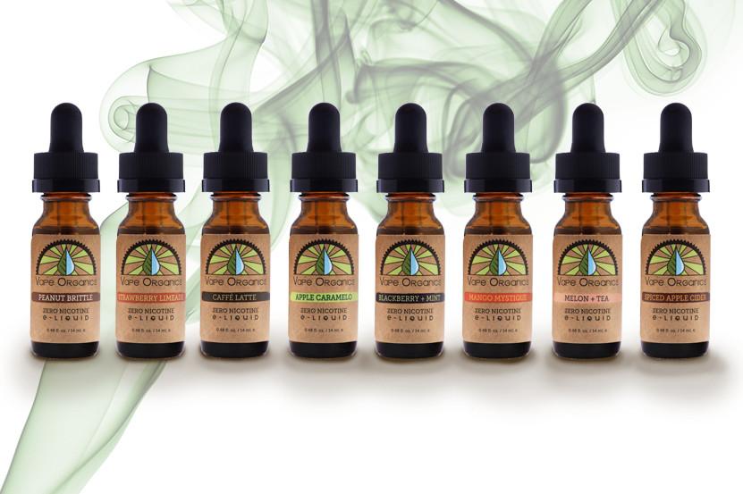 Organic Vape Juice  E Juice VG E Liquid USDA Certified Organic