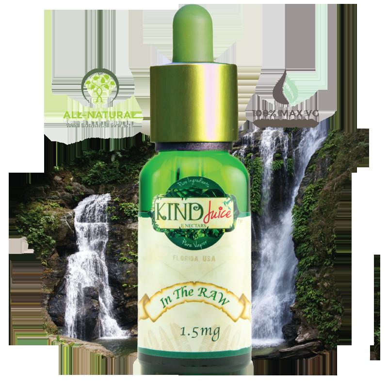 Organic Vape Juice  In The RAW Kind Juice E Nectar