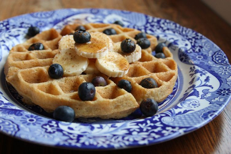 Organic Waffles Blue  Gluten Free Whole Food Waffles Recipe on Food52