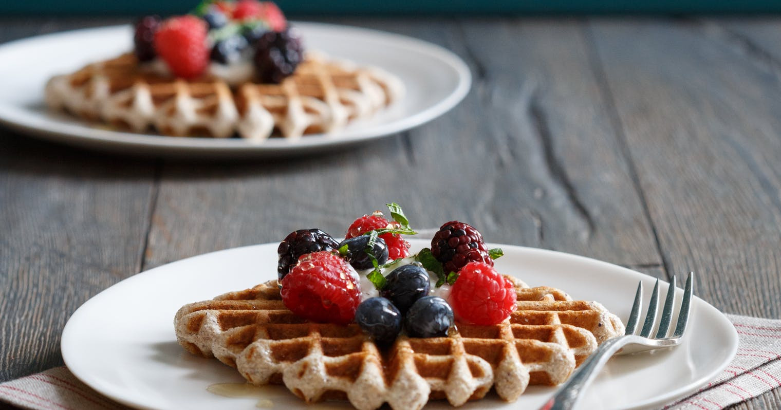 Organic Waffles Blue  Best Gluten Free Blue Cornmeal Waffles Recipe The Yellow