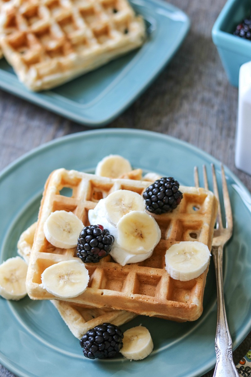 "Organic Waffles Blue  Easy Freezer Friendly Whole Wheat Waffles A Mind ""Full"" Mom"