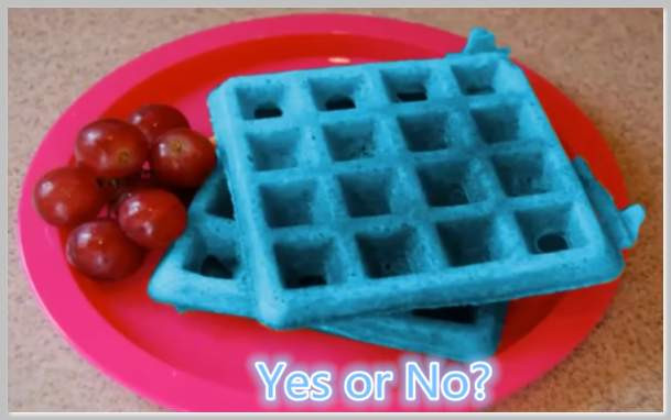 Organic Waffles Blue  Blue Waffle Disease – Is it an STD or an Infection in