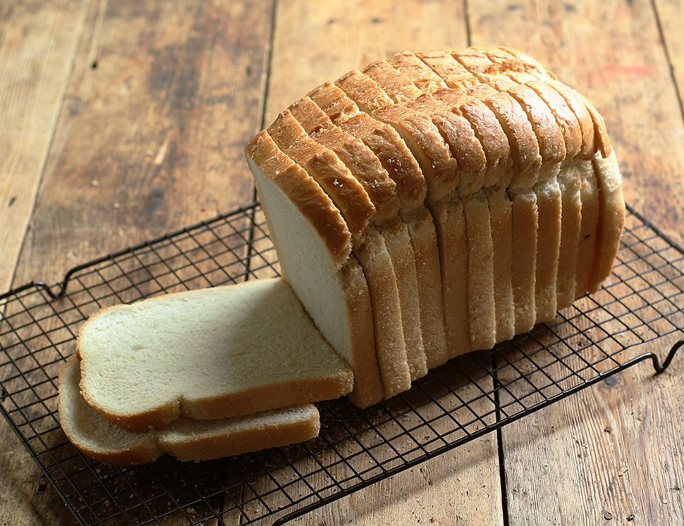 Organic White Bread  White Loaf Sliced Organic Authentic Bread Co 800g