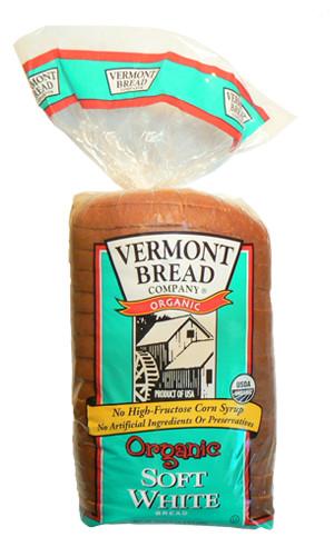 Organic White Bread  Organic Soft White