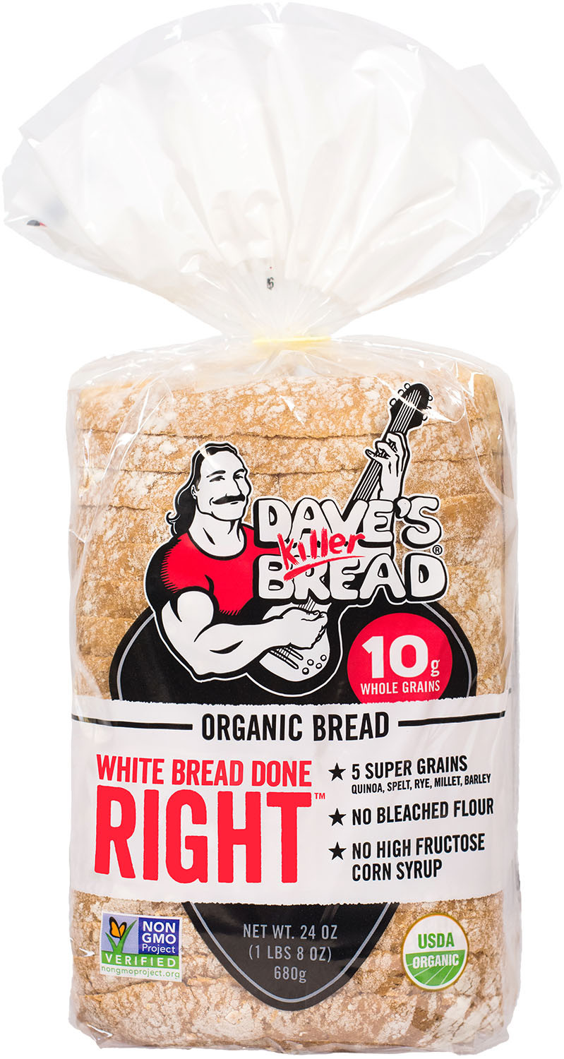 Organic White Bread  Our Products — Dave s Killer Bread