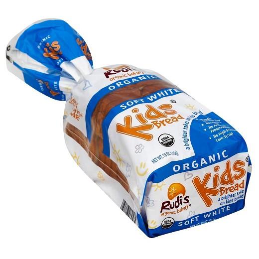 Organic White Bread  Rudi s Organic White Kids Bread 18 oz Tar