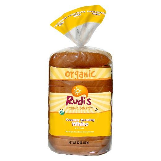 Organic White Bread  Rudi s Organic Country Morning White Bread 22oz Tar