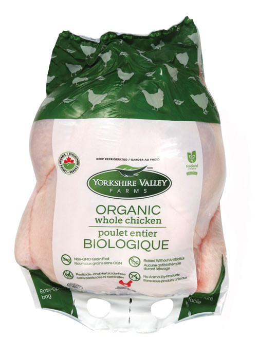 Organic Whole Chicken  Yorkshire Valley Farms Organic Whole Chicken