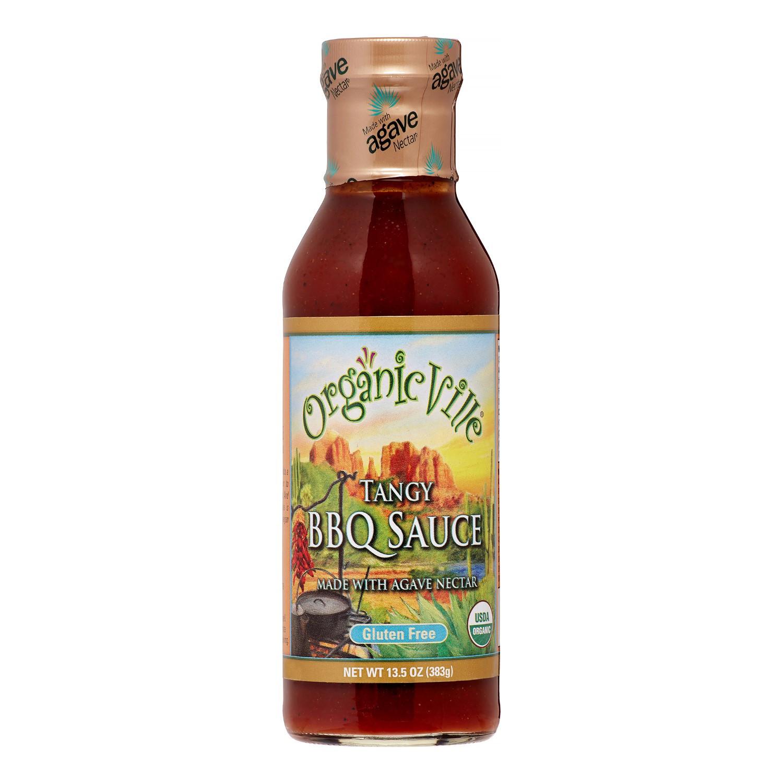 Organicville Bbq Sauce  Organicville Tangy BBQ Sauce Gluten Free 13 5 Oz
