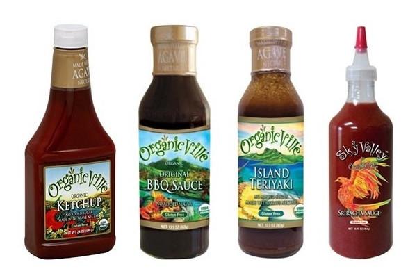 Organicville Bbq Sauce  Organicville Condiments Review Sriracha Ketchup BBQ