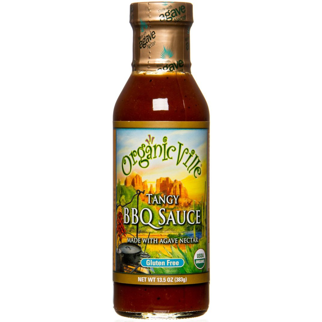 Organicville Bbq Sauce  OrganicVille BBQ Sauce Tangy Organic Azure Standard