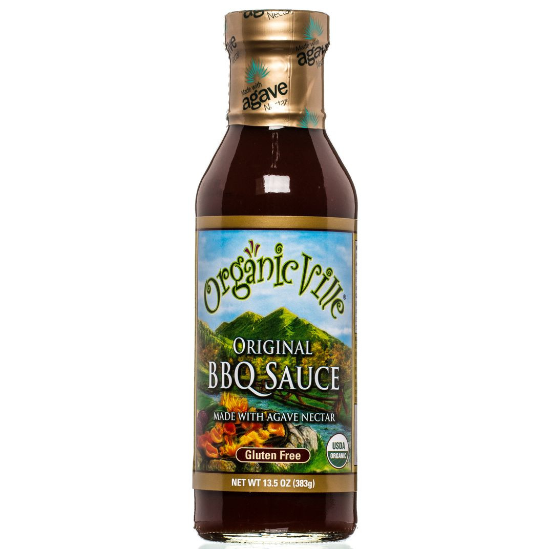 Organicville Bbq Sauce  OrganicVille BBQ Sauce Original Organic Azure Standard