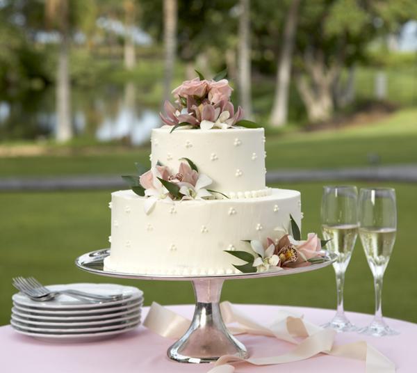 Outdoor Wedding Cakes  The About Outdoor Weddings Preweddings and Weddings