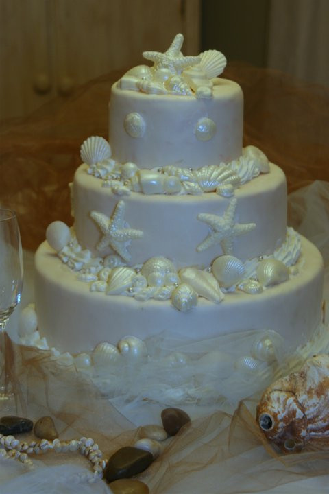 Outer Banks Wedding Cakes  Outer Banks Wedding Cakes Tullios Bakery Duck NC