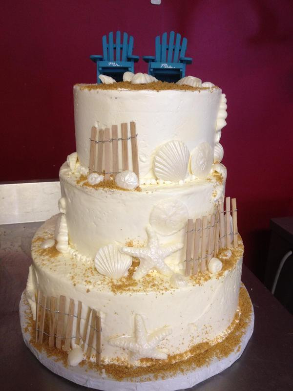 Outer Banks Wedding Cakes  Tullio s Bakery Outer Banks Wedding Cakes & Cupcakes