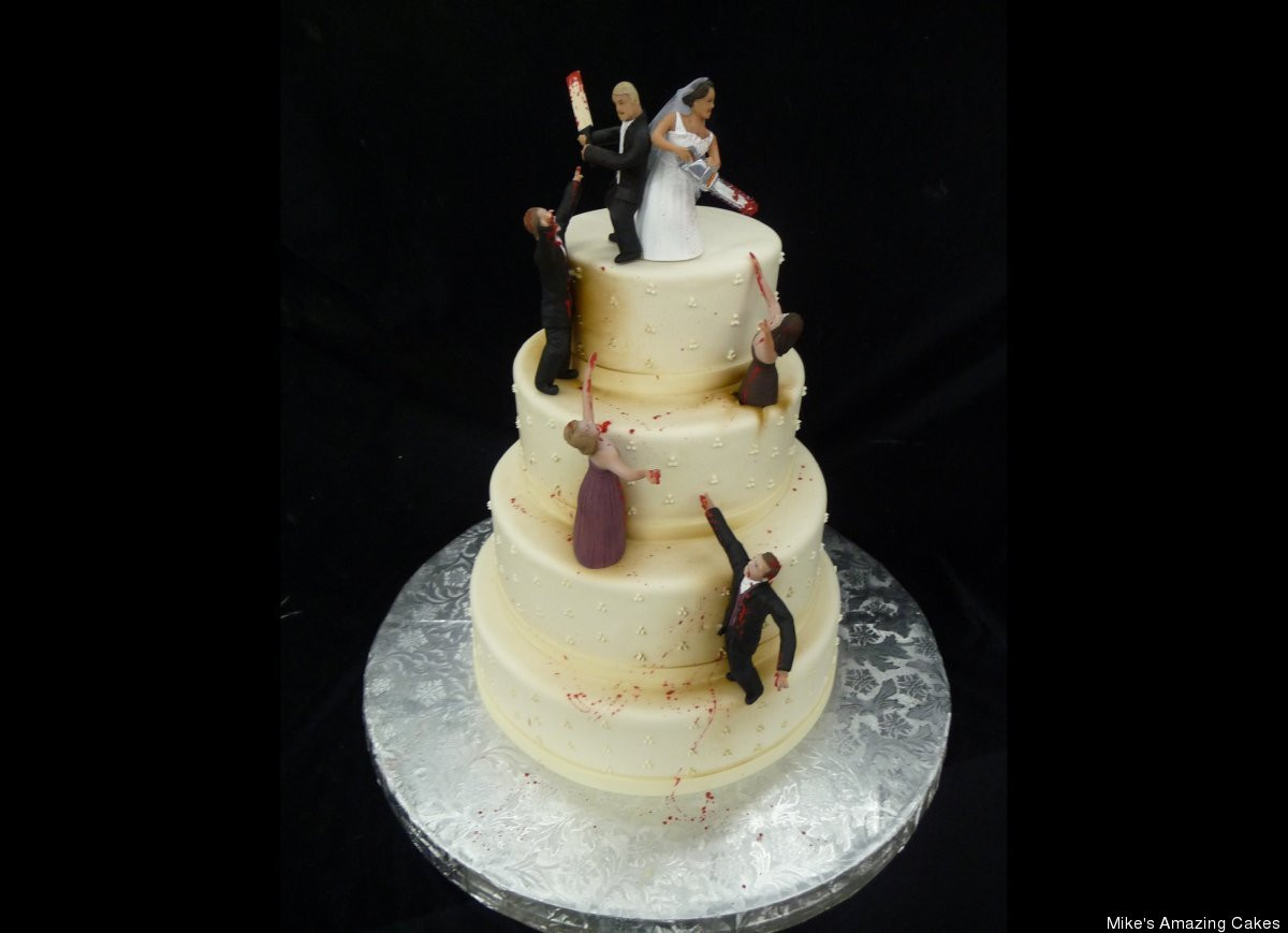 Outrageous Wedding Cakes  The Most Outrageous Wedding Cakes Arabia Weddings
