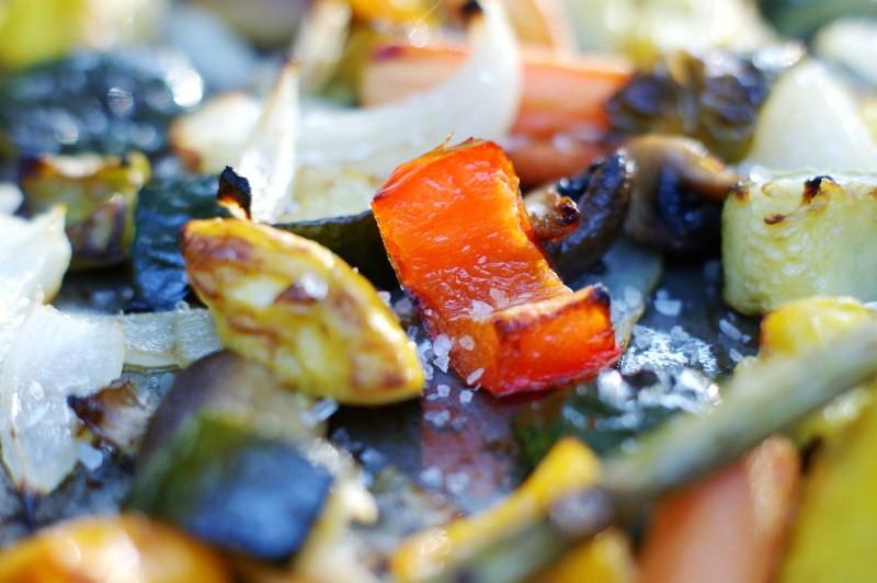Oven Roasted Summer Vegetables  Easy Oven Roasted Summer Ve ables