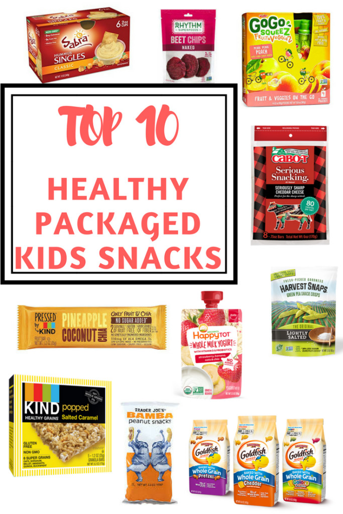 Packaged Healthy Snacks  Top 10 Healthy Packaged Kids Snacks Bite of Health Nutrition