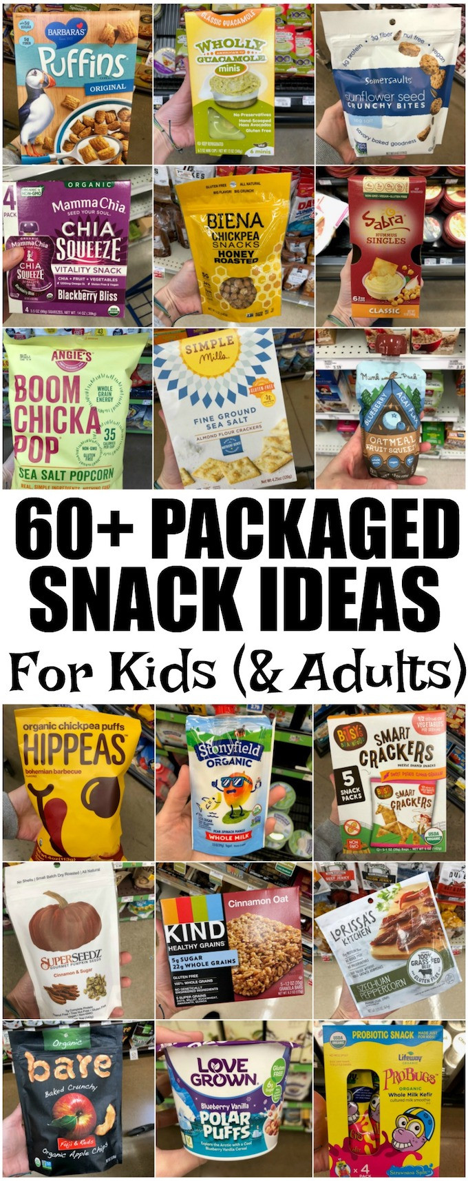 Packaged Healthy Snacks  60 Healthy Packaged Snacks For Kids