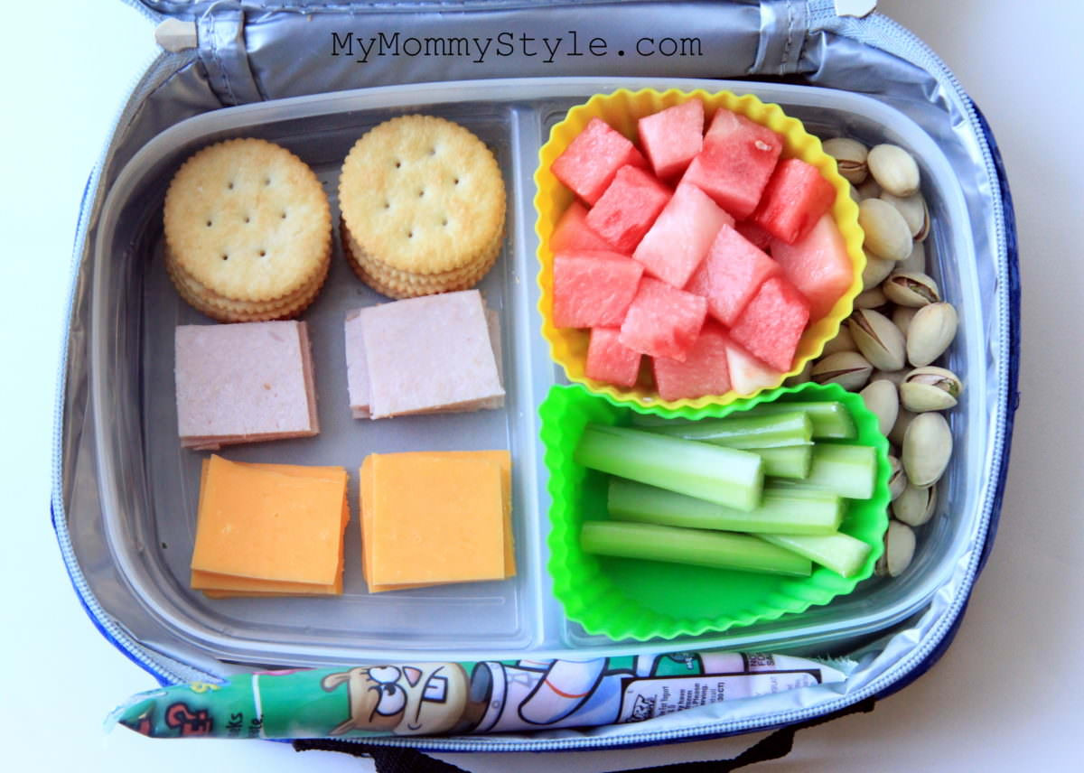 Packing Healthy Lunches  Healthy Lunch Box ideas week 2 My Mommy Style
