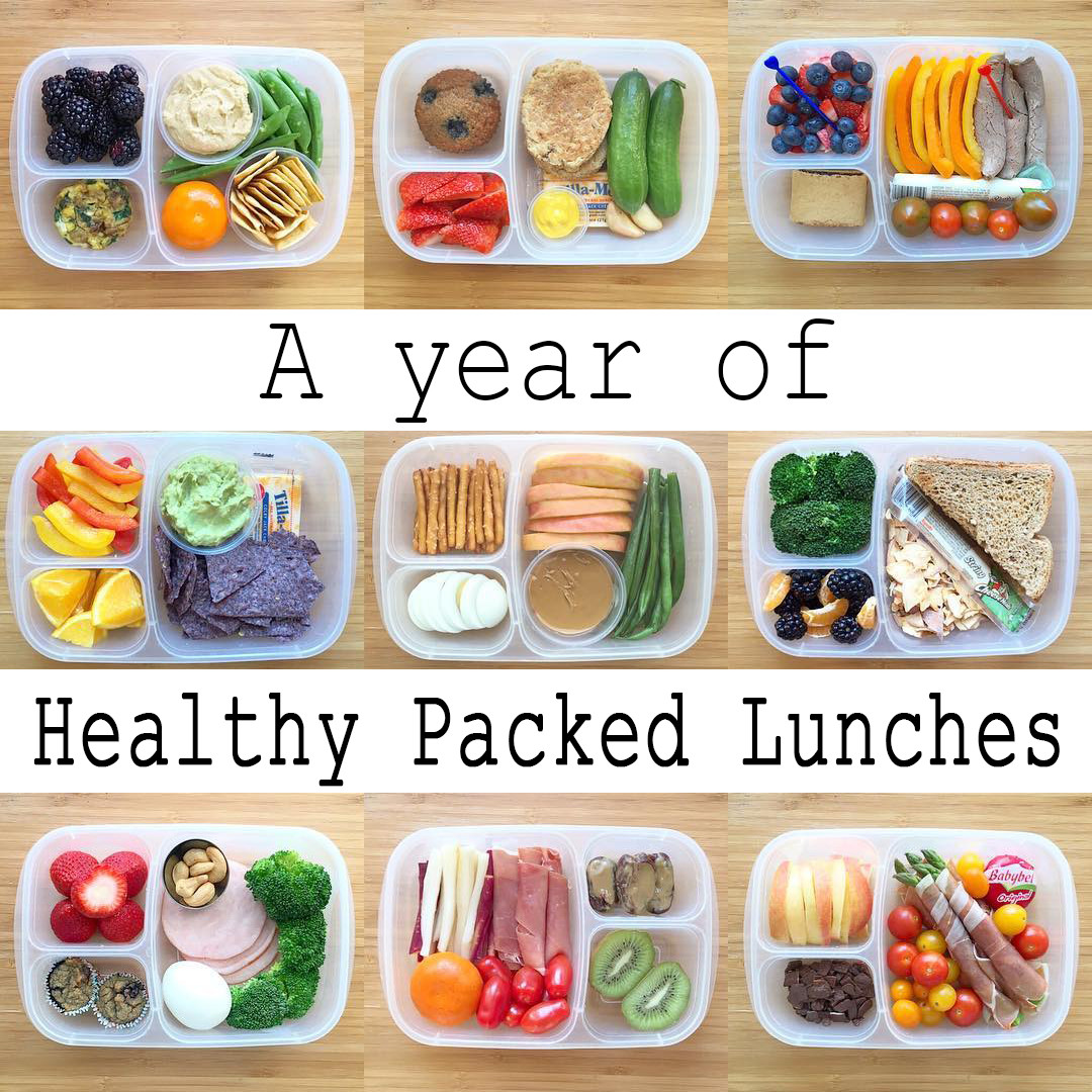 Packing Healthy Lunches  A Year of Healthy Packed Lunches [VIDEO
