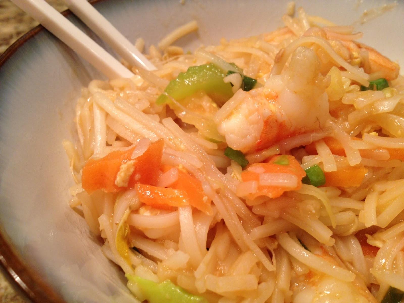 Pad Thai Healthy  A Healthy Makeover Shrimp Pad Thai