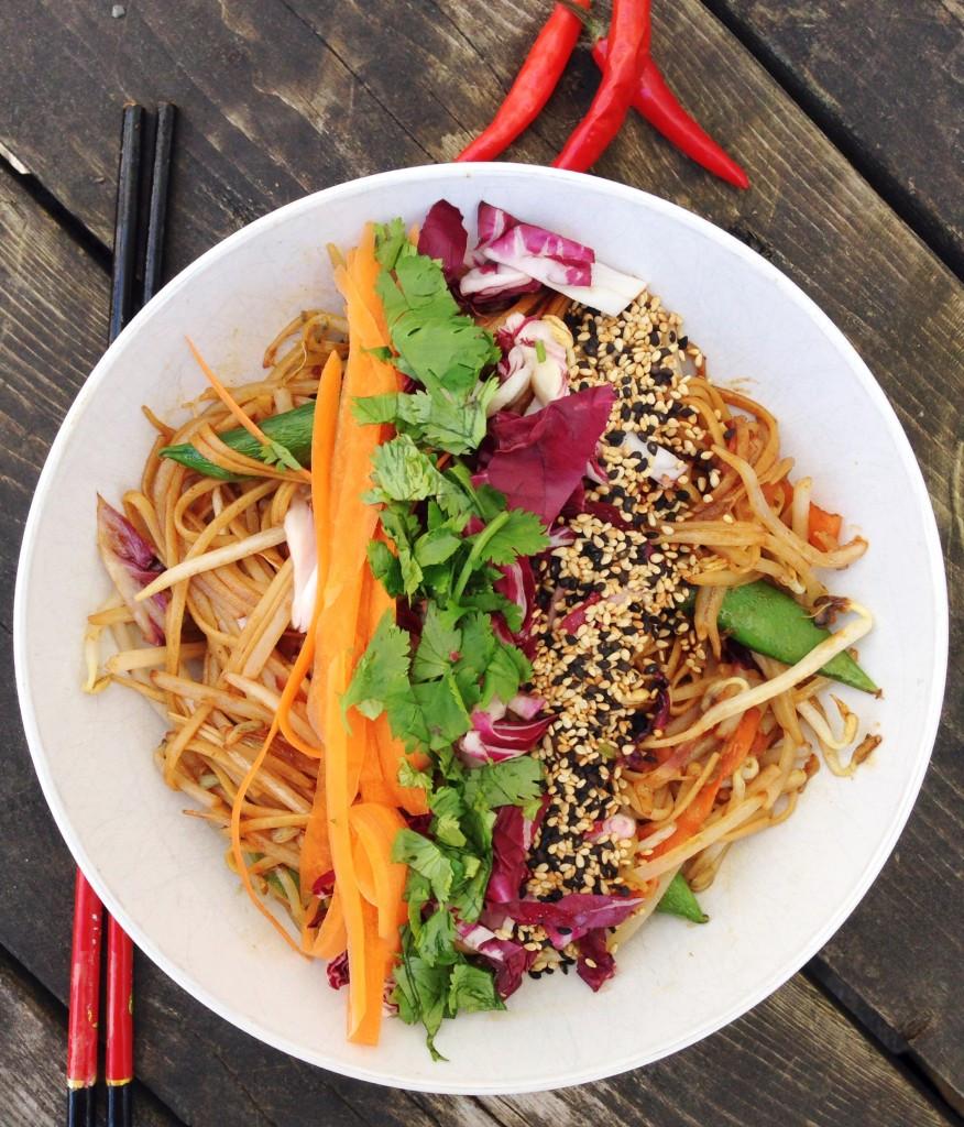Pad Thai Healthy  Healthy Pad Thai Choosingchia