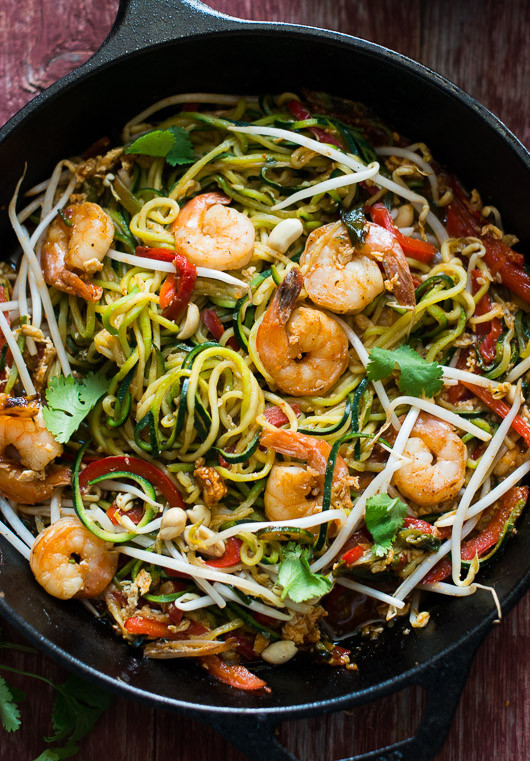 Pad Thai Healthy  Easy and Healthy Ve able Pad Thai Recipe
