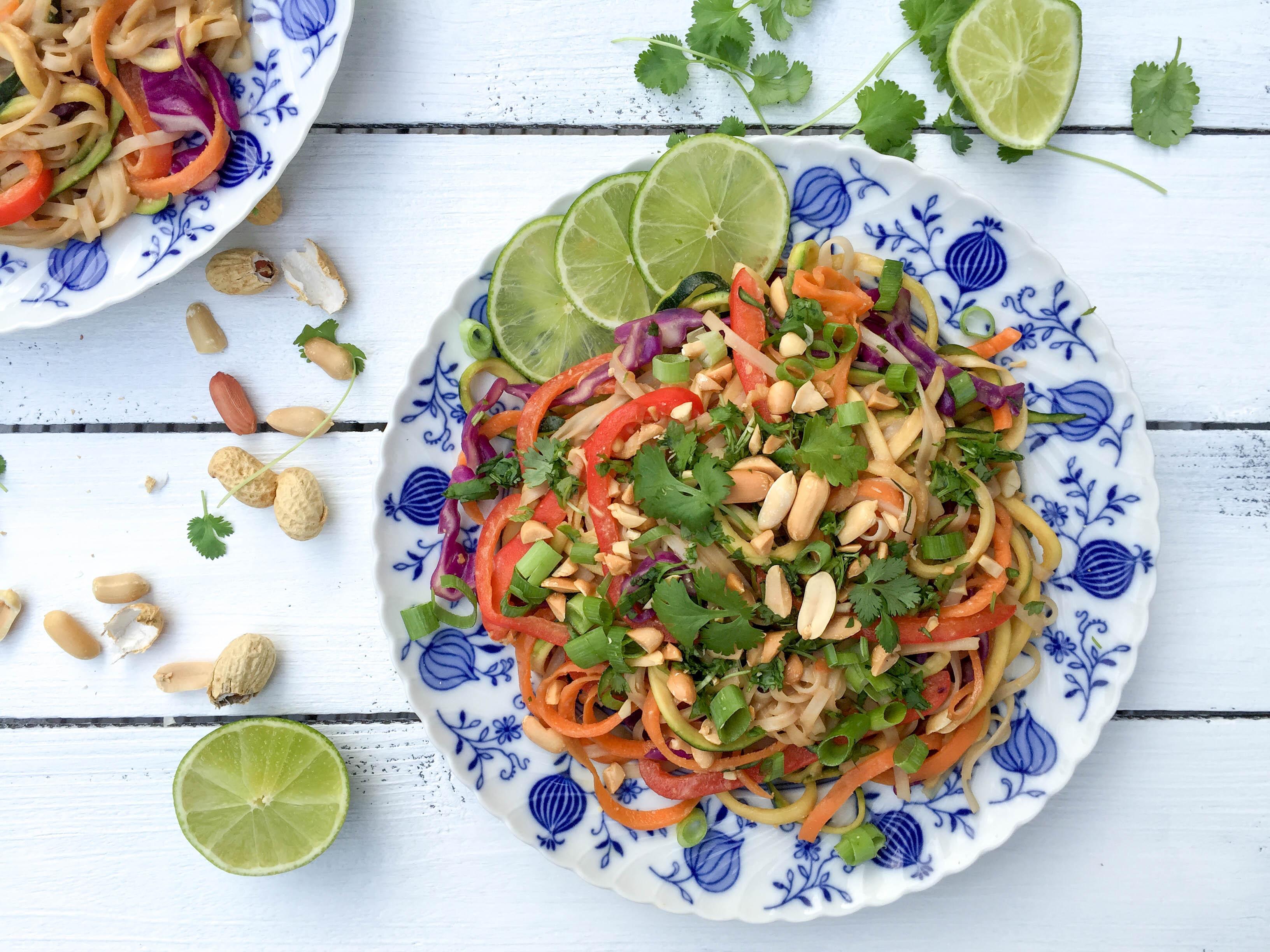 Pad Thai Healthy  Healthy Pad Thai Heavenlynn Healthy