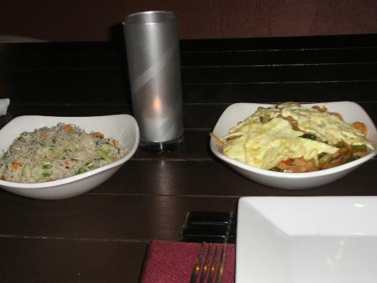 Pad Thai Summerville  Waterfall & torch lights Picture of Fusion Restaurant