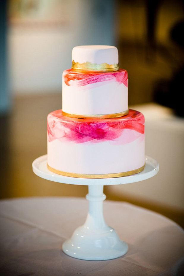Painted Wedding Cakes  22 Hand Painted Wedding Cakes That Will Inspire You