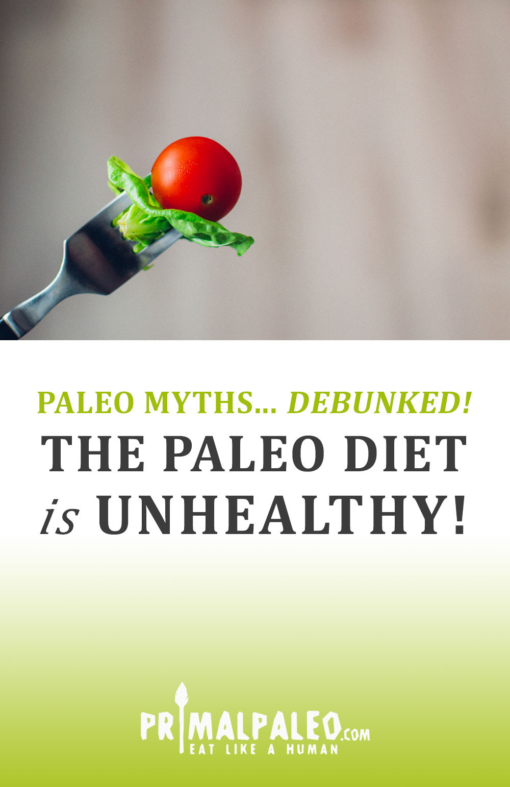 Paleo Diet Unhealthy  [Paleo Myths… Debunked ] The Paleo Diet is Unhealthy
