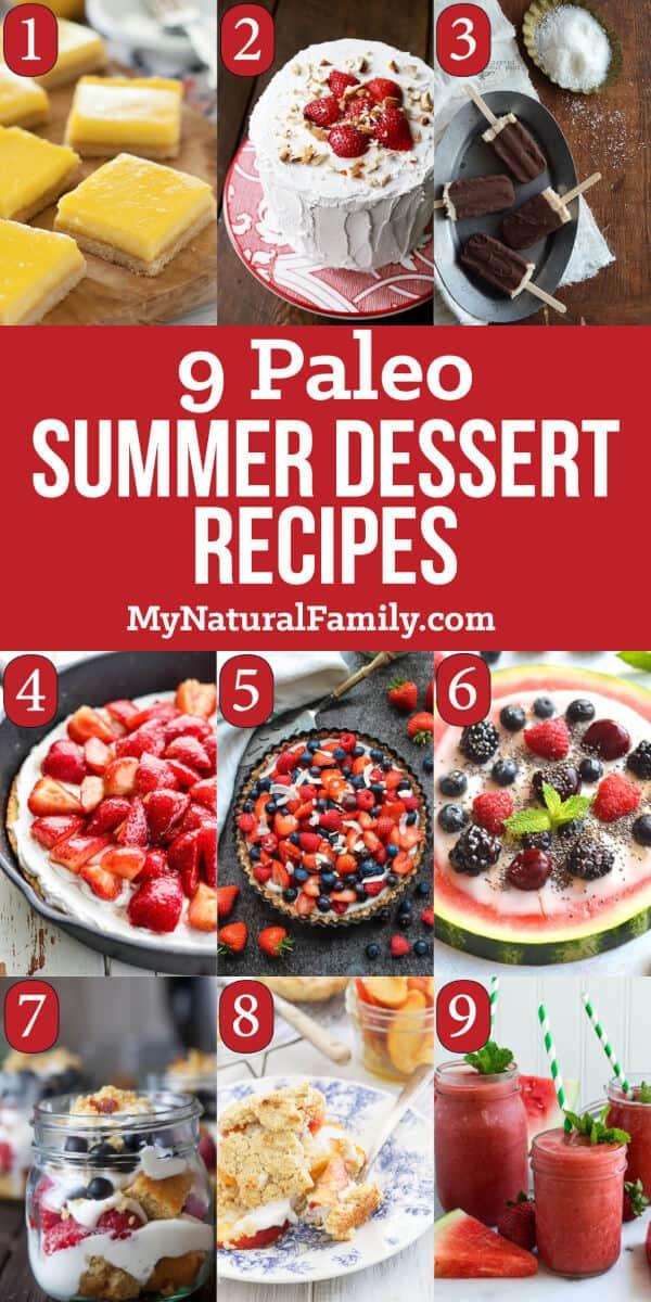 Paleo Summer Desserts  9 Paleo Summer Dessert Recipes for the Best Party Ever