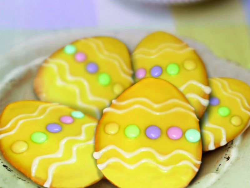 Panera Bread Easter  Panera Bread Easter Egg Cookie Decorating