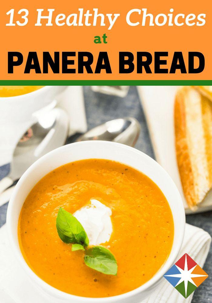 Panera Bread Healthy Choice  25 Best Ideas about Panera Nutrition Info on Pinterest