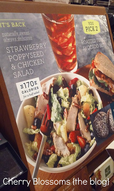 Panera Bread Healthy Choice  Healthy Choices with Panera Bread Cherry Blossoms The Blog