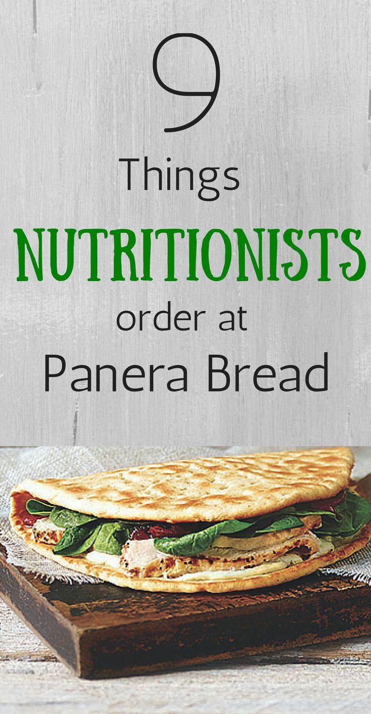 Panera Bread Healthy Menu  Best 25 Panera bread nutrition ideas on Pinterest
