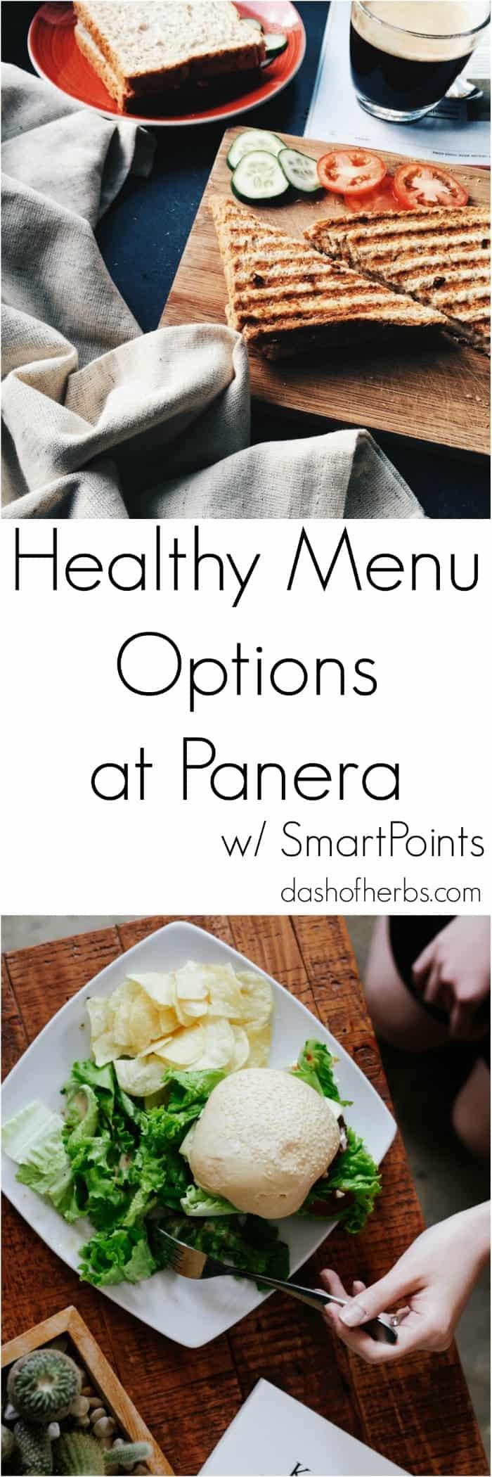 Panera Bread Healthy Menu  Healthy Menu Options at Panera Bread Dash of Herbs