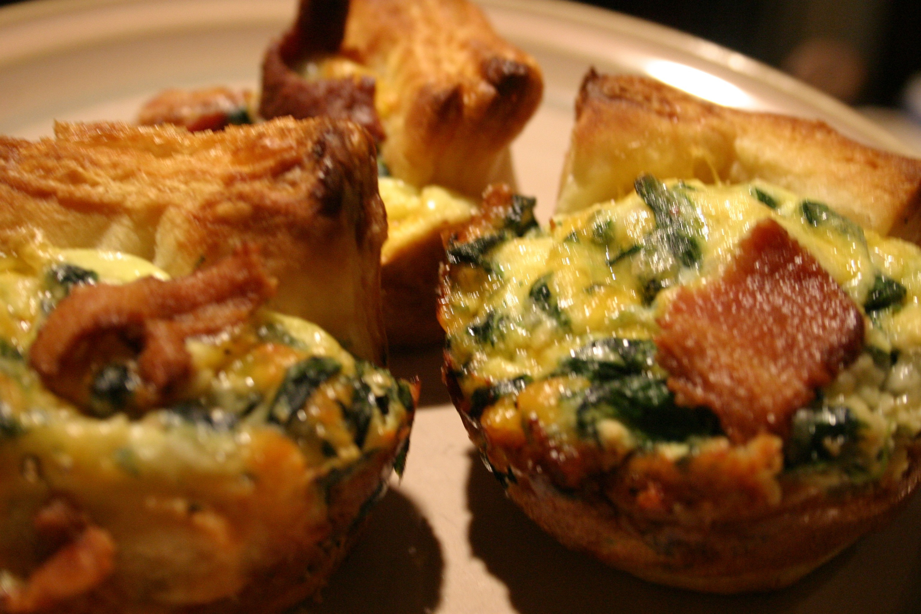 Panera Bread Open On Easter  Miniature Bacon Egg and Cheese Souffles
