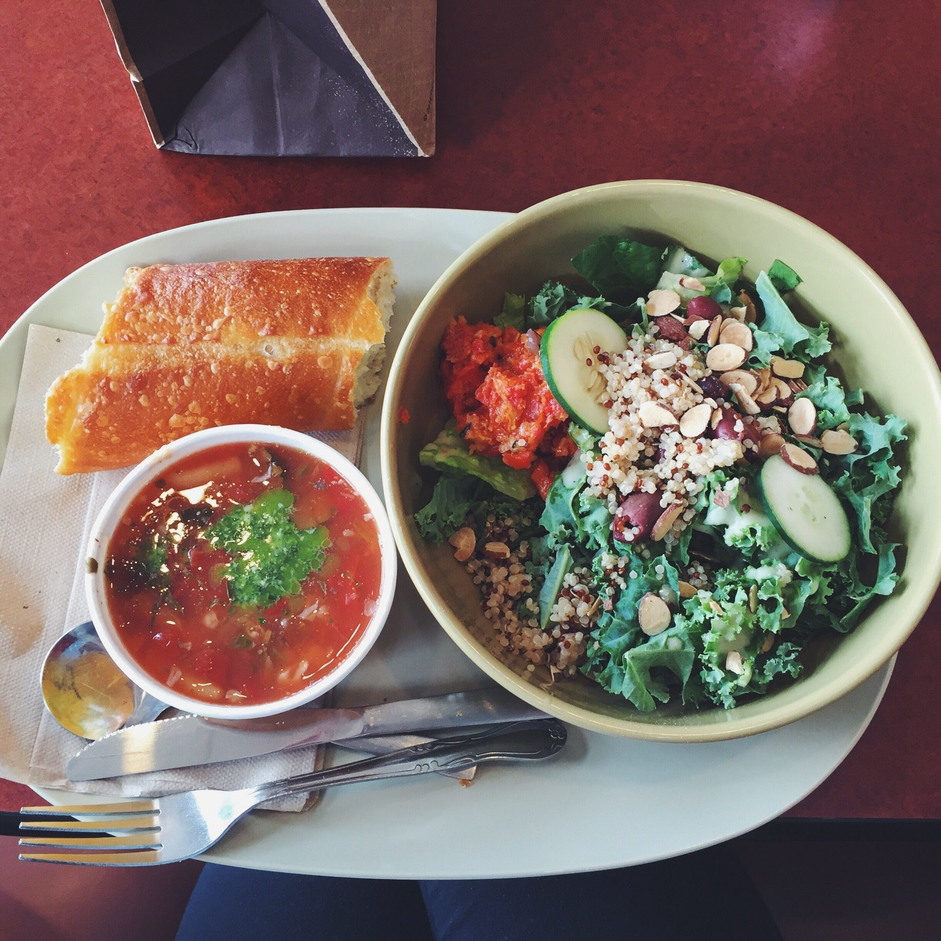 Panera Salads Healthy  Healthy Fast Food Options I Heart Ve ables