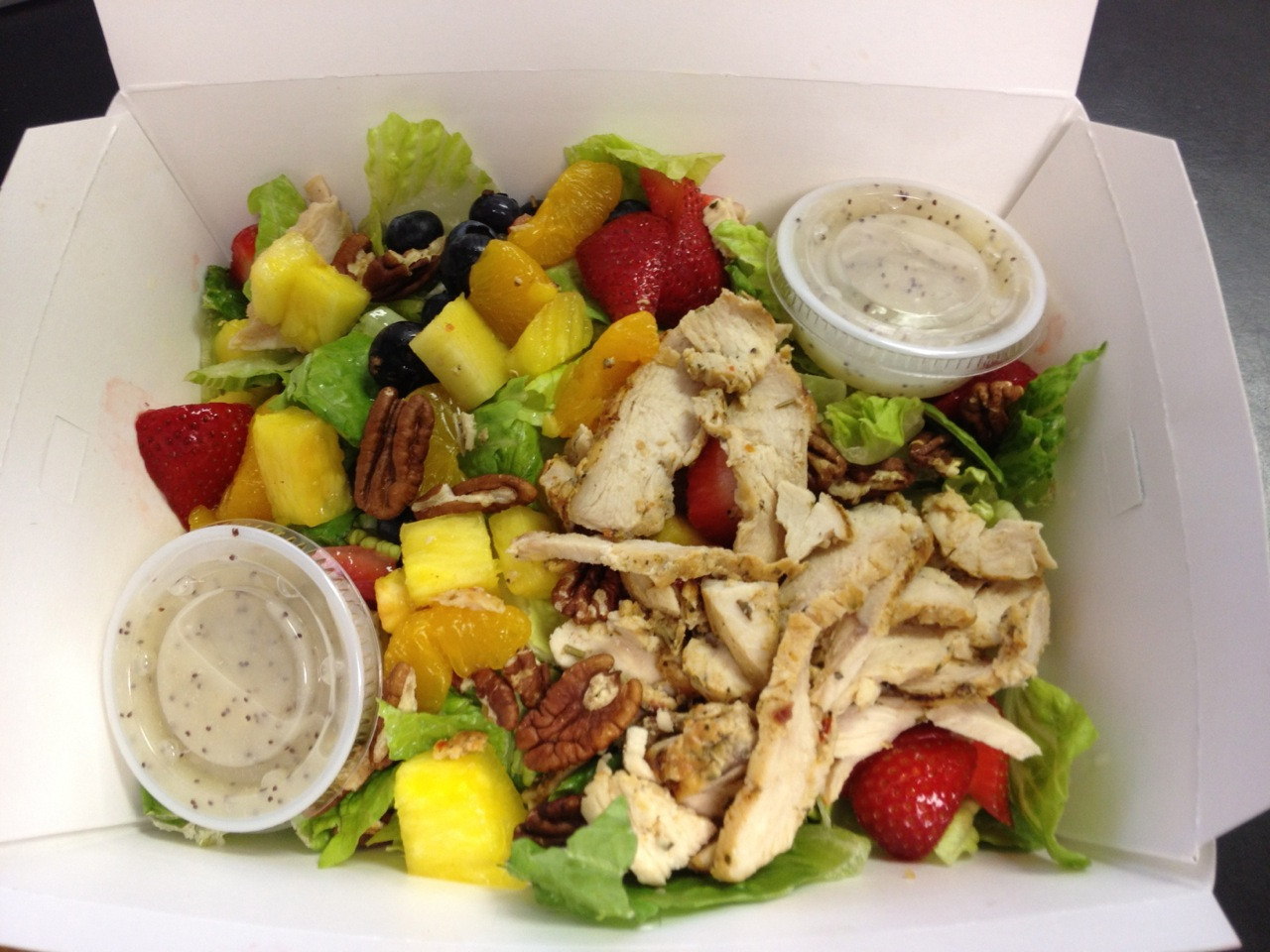 Panera Salads Healthy  Healthy Meals The Run