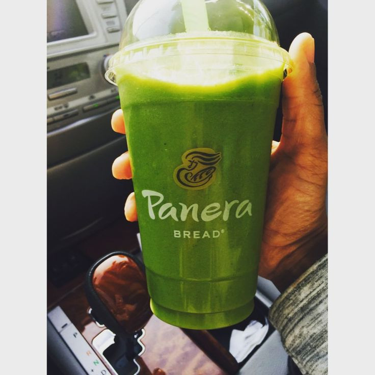 Panera Smoothies Healthy  Panera Bread Green Passion Power Smoothie