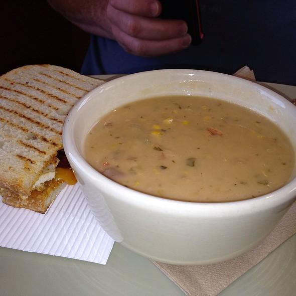 Panera Summer Corn Chowder Recipe  Panera Bread Menu Melbourne FL Foodspotting