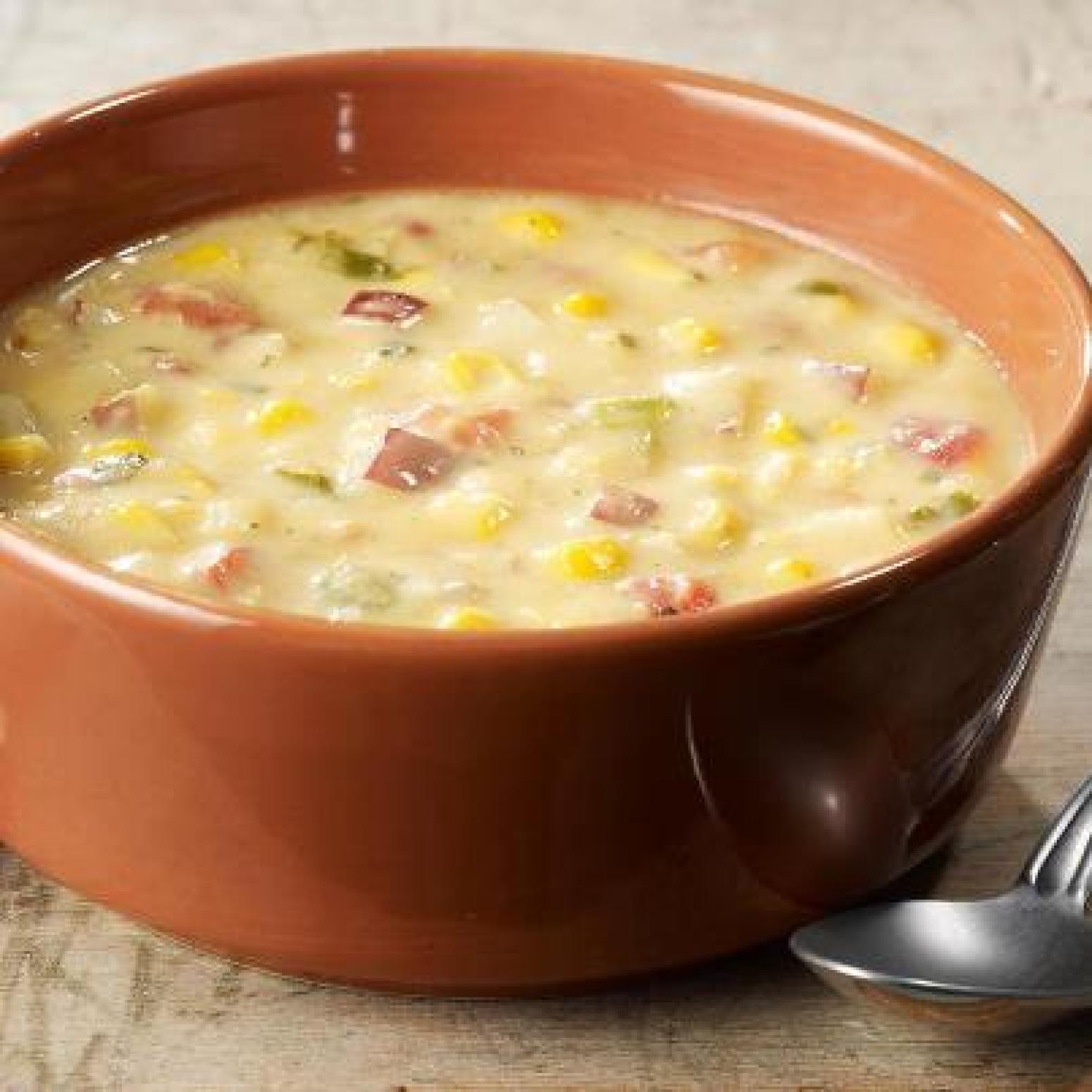 Panera Summer Corn Chowder Recipe  Panera Bread Summer Corn Chowder Copycat Recipe