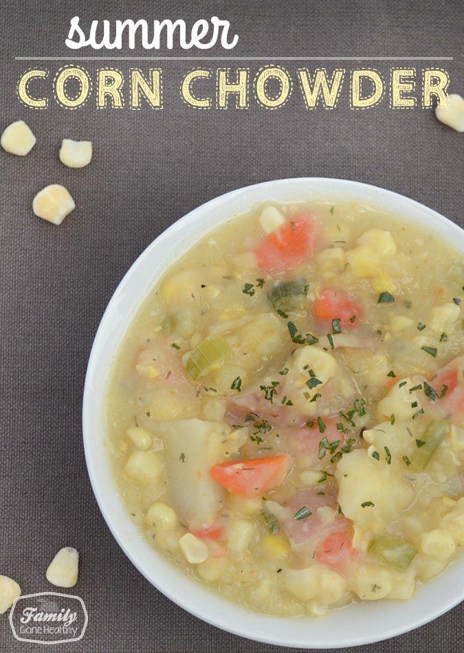 Panera Summer Corn Chowder Recipe  Recipe Panera Bread Inspired Summer Corn Chowder